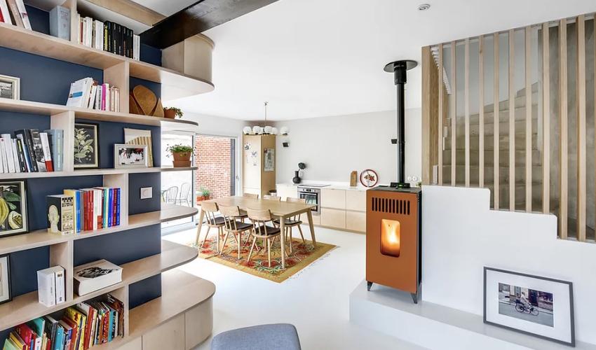 """Căn nhà 60m² đẹp ngất ngây với thiết kế """"quyến rũ"""" lấy cảm hứng từ thiên nhiên - Ảnh 1."""