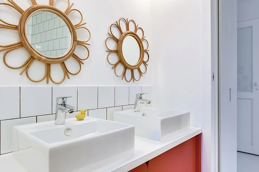 """Căn nhà 60m² đẹp ngất ngây với thiết kế """"quyến rũ"""" lấy cảm hứng từ thiên nhiên - Ảnh 13."""
