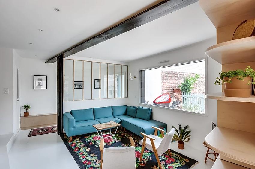 """Căn nhà 60m² đẹp ngất ngây với thiết kế """"quyến rũ"""" lấy cảm hứng từ thiên nhiên - Ảnh 3."""