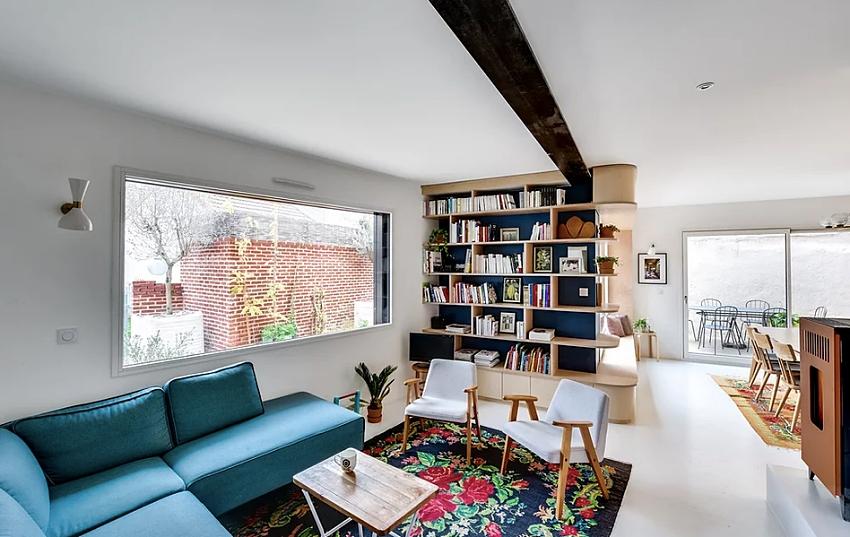 """Căn nhà 60m² đẹp ngất ngây với thiết kế """"quyến rũ"""" lấy cảm hứng từ thiên nhiên - Ảnh 2."""