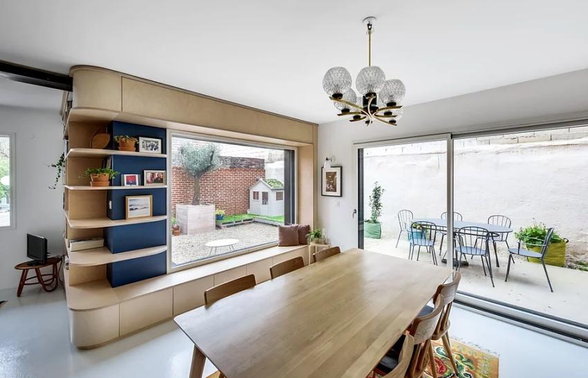 """Căn nhà 60m² đẹp ngất ngây với thiết kế """"quyến rũ"""" lấy cảm hứng từ thiên nhiên - Ảnh 4."""
