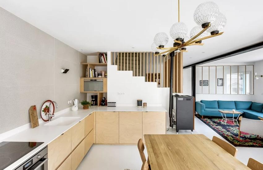 """Căn nhà 60m² đẹp ngất ngây với thiết kế """"quyến rũ"""" lấy cảm hứng từ thiên nhiên - Ảnh 6."""