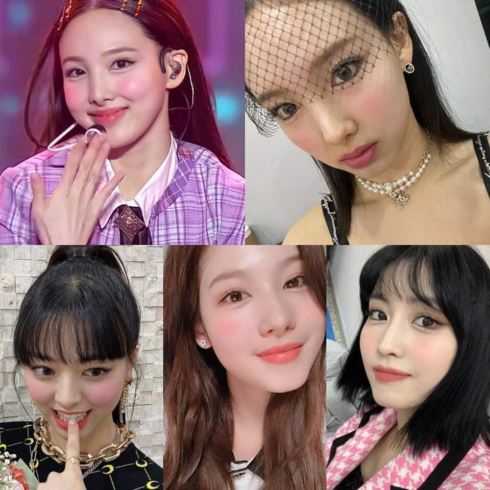 """Style makeup """"vạn người chê"""" của Twice biến idol từ xinh như mộng thành trò hề vì phấn son - Ảnh 1."""