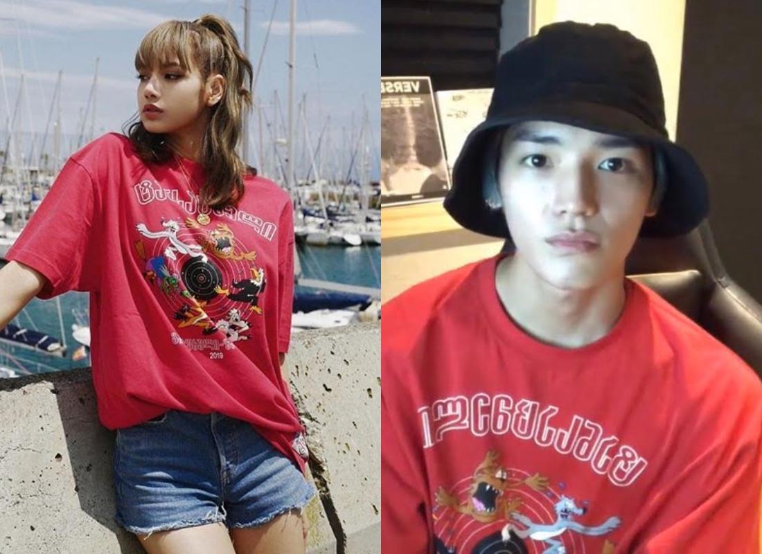 5 lần đụng hàng hiệu của Lisa với các nam idol: Hết BTS lại tới EXO, ai mới là người mặc đỉnh nhất? - Ảnh 4.