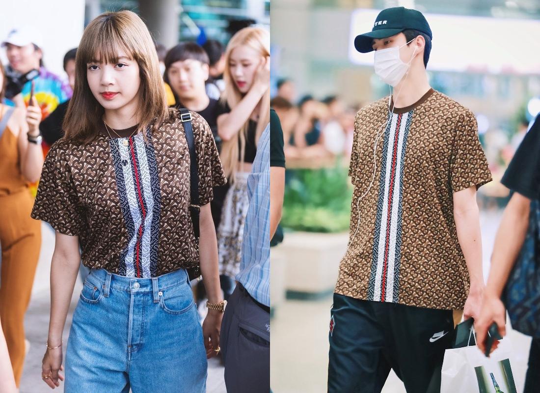 5 lần đụng hàng hiệu của Lisa với các nam idol: Hết BTS lại tới EXO, ai mới là người mặc đỉnh nhất? - Ảnh 3.