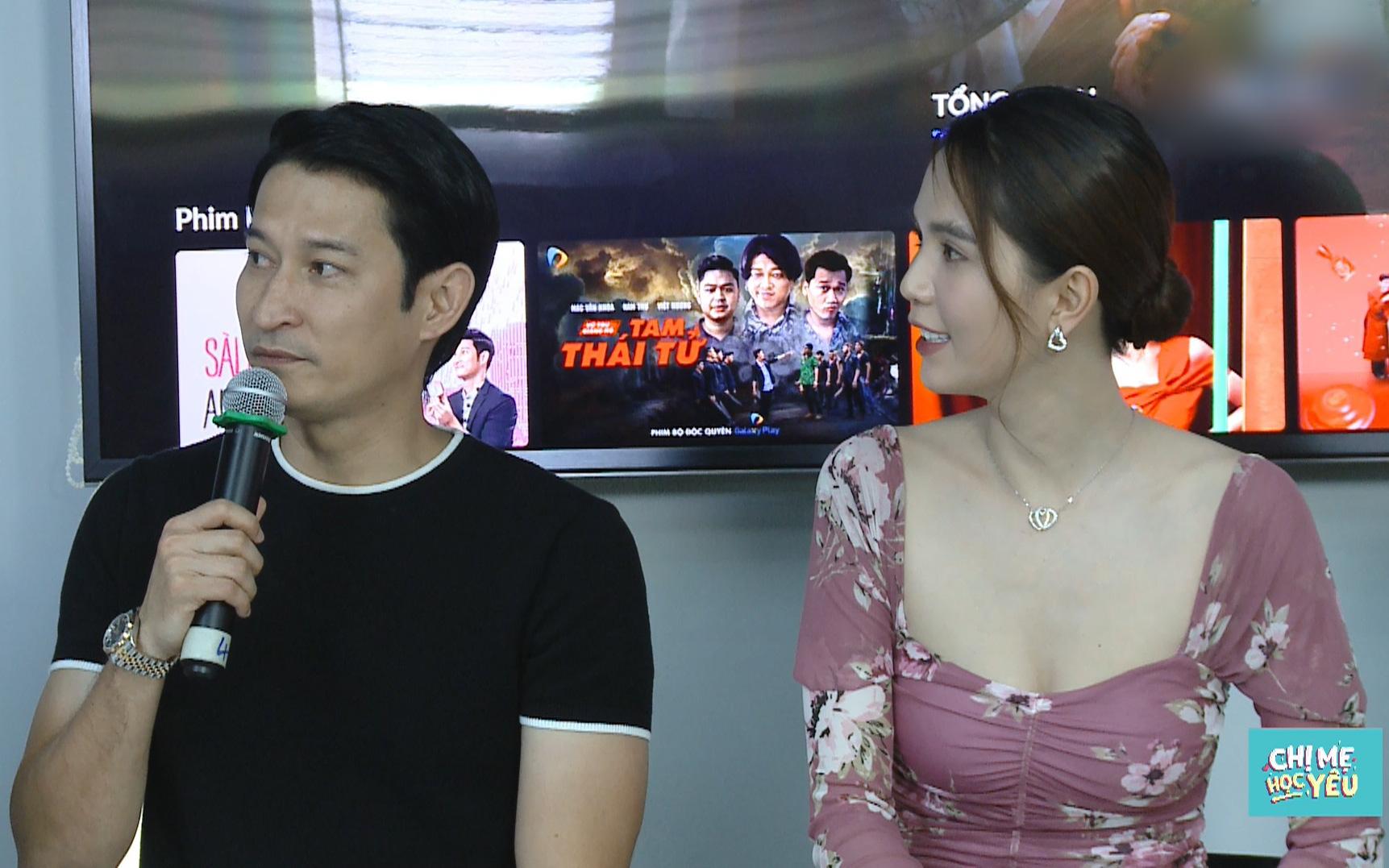 """Ngọc Trinh đóng cảnh """"nhạy cảm"""" với Huy Khánh, nam diễn viên không dám kể cho vợ biết"""