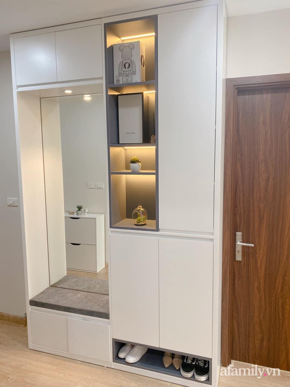 Căn hộ 92m² đong đầy hạnh phúc với nội thất đơn giản, hiện đại của vợ chồng trẻ Hà Nội - Ảnh 5.