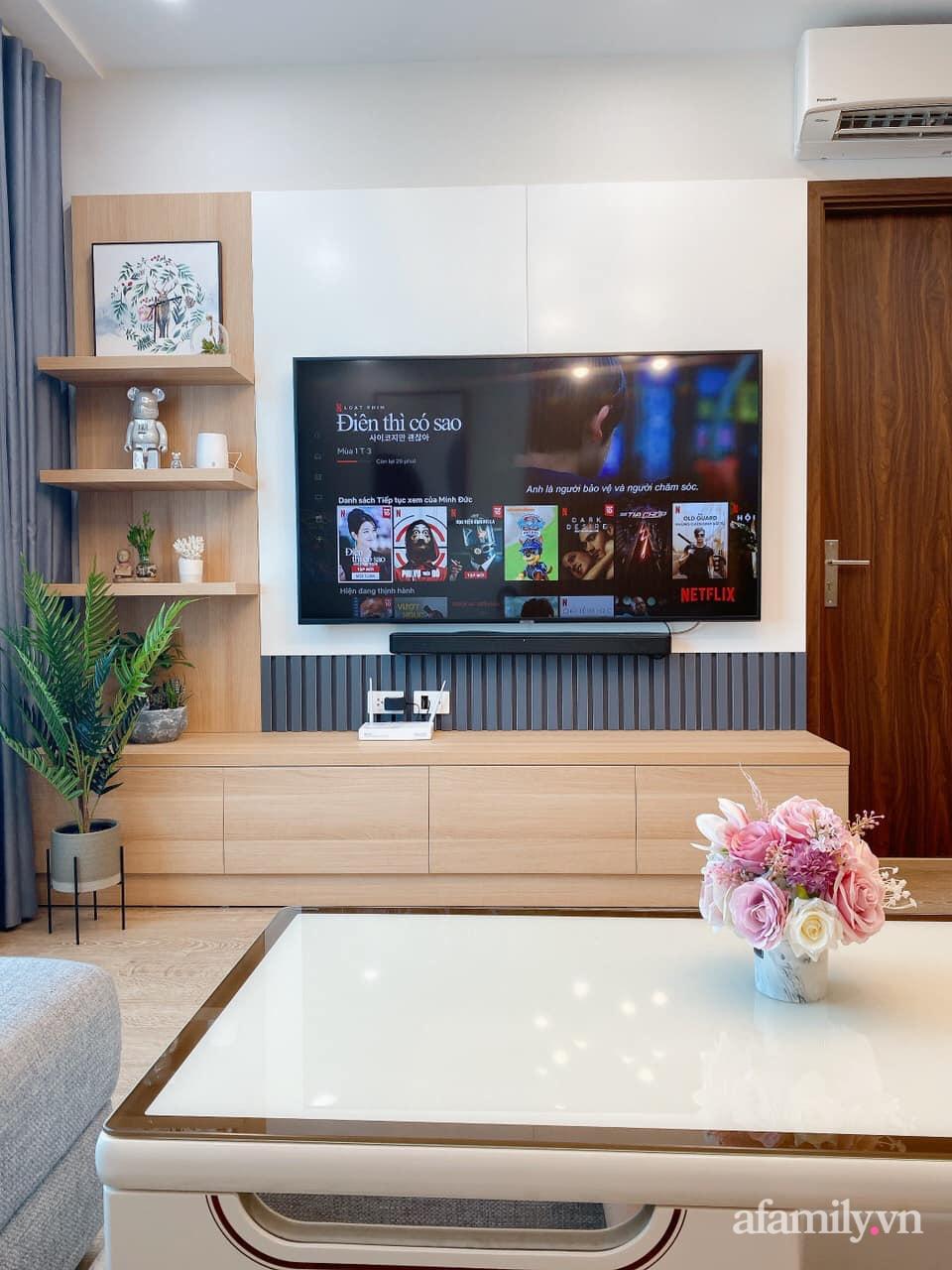 Căn hộ 92m² đong đầy hạnh phúc với nội thất đơn giản, hiện đại của vợ chồng trẻ Hà Nội - Ảnh 8.