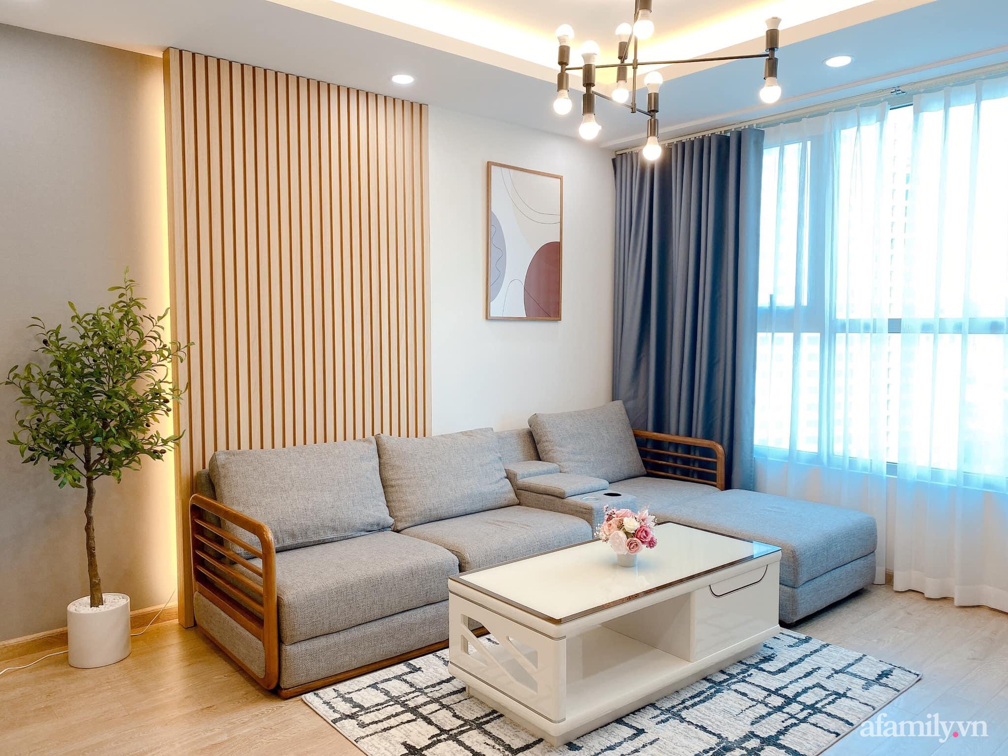 Căn hộ 92m² đong đầy hạnh phúc với nội thất đơn giản, hiện đại của vợ chồng trẻ Hà Nội - Ảnh 6.