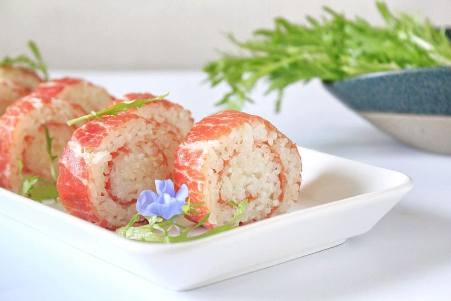 Xôi cuộn thịt món ngon đẹp mắt cho bữa trưa văn phòng - Ảnh 8.