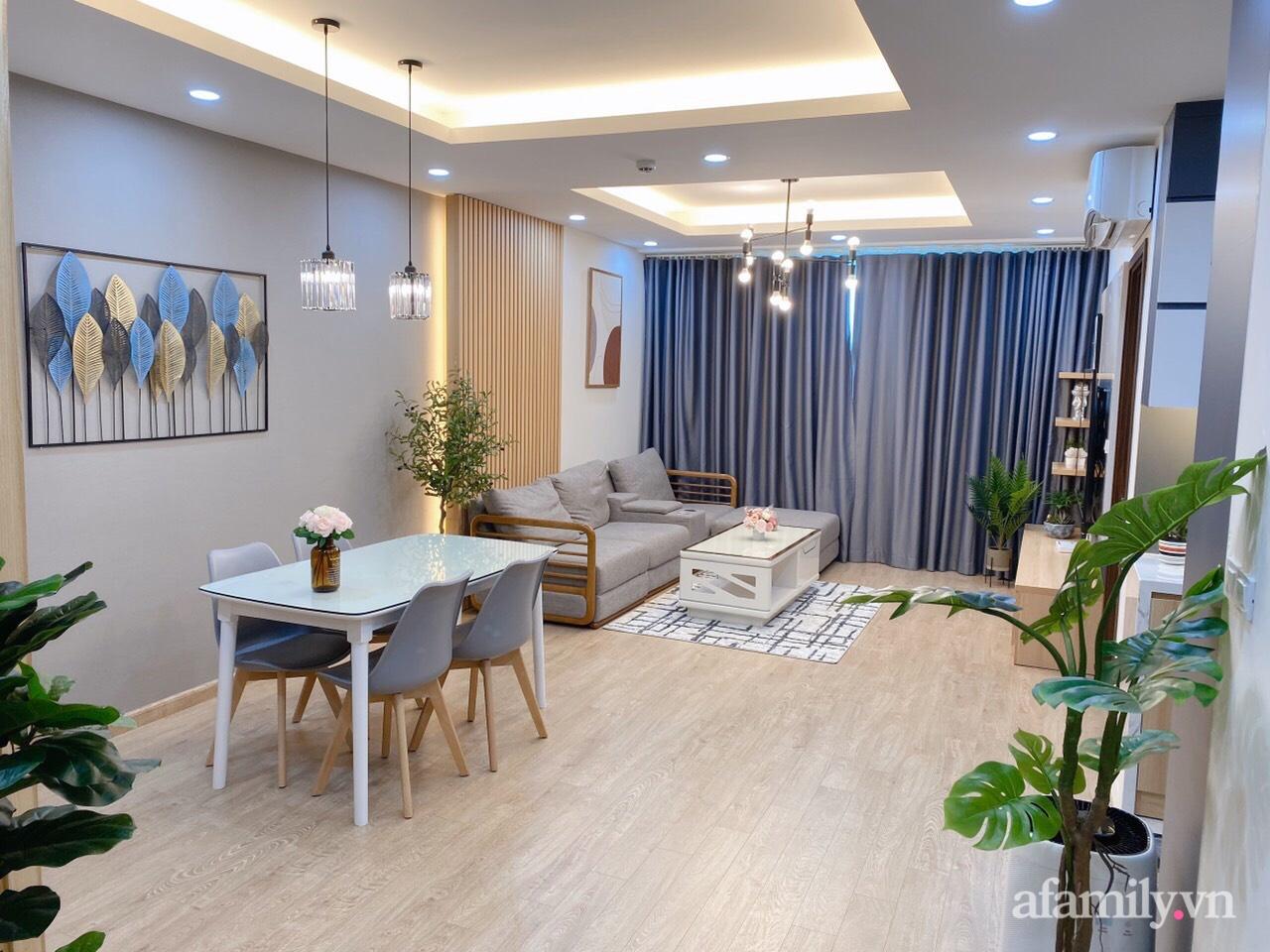 Căn hộ 92m² đong đầy hạnh phúc với nội thất đơn giản, hiện đại của vợ chồng trẻ Hà Nội - Ảnh 1.