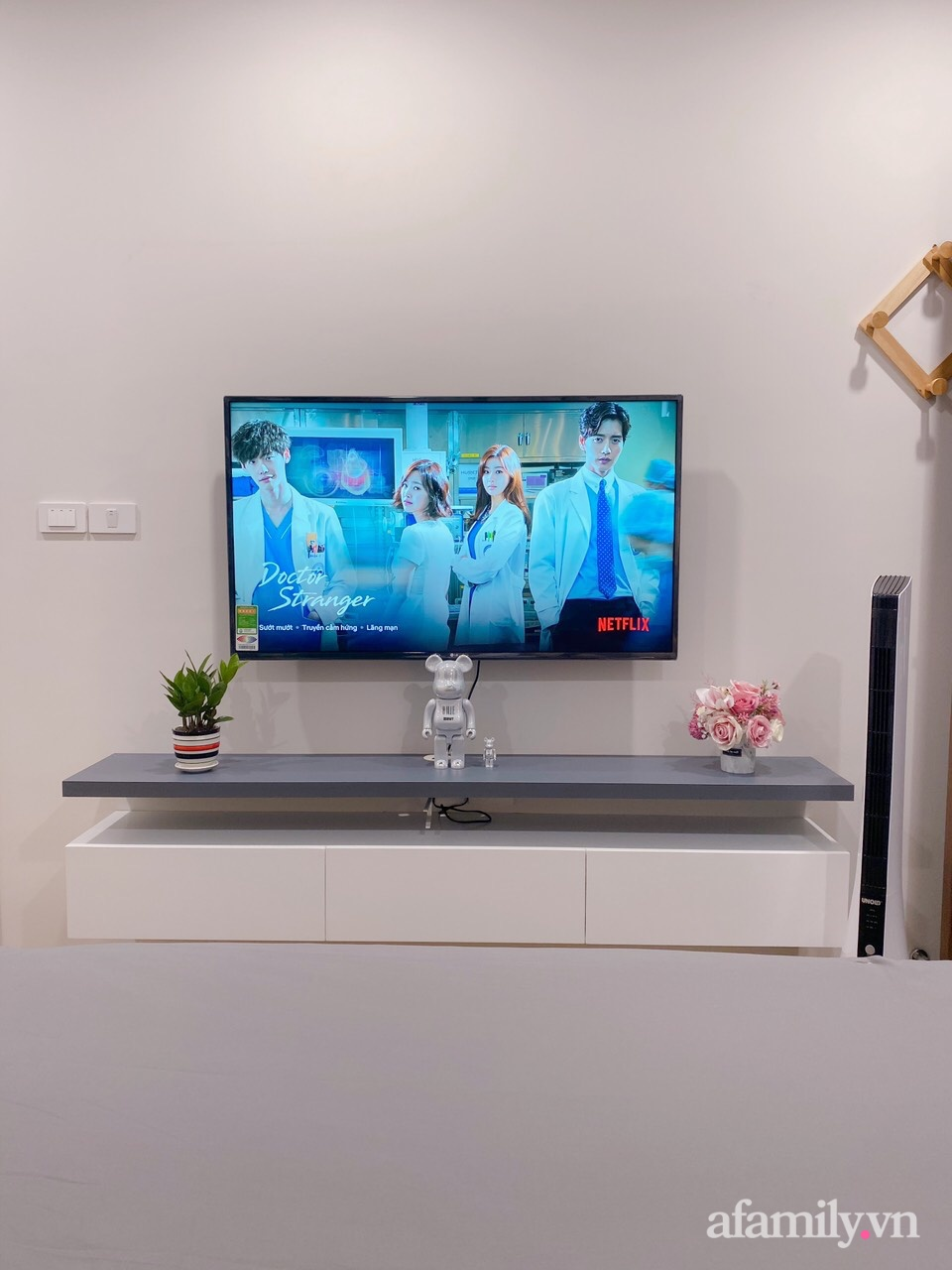 Căn hộ 92m² đong đầy hạnh phúc với nội thất đơn giản, hiện đại của vợ chồng trẻ Hà Nội - Ảnh 16.