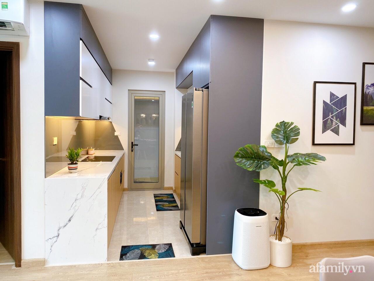 Căn hộ 92m² đong đầy hạnh phúc với nội thất đơn giản, hiện đại của vợ chồng trẻ Hà Nội - Ảnh 9.