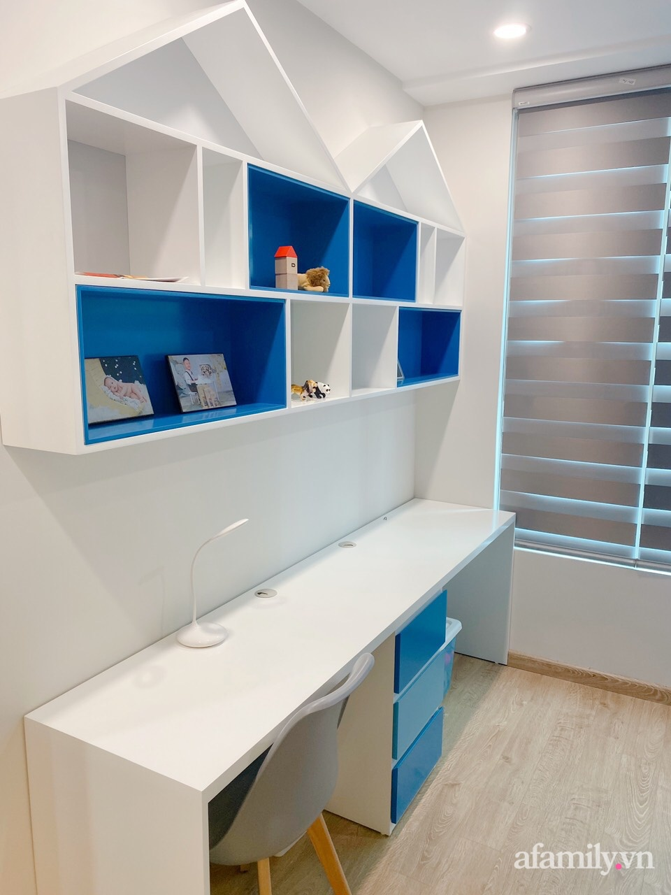Căn hộ 92m² đong đầy hạnh phúc với nội thất đơn giản, hiện đại của vợ chồng trẻ Hà Nội - Ảnh 19.
