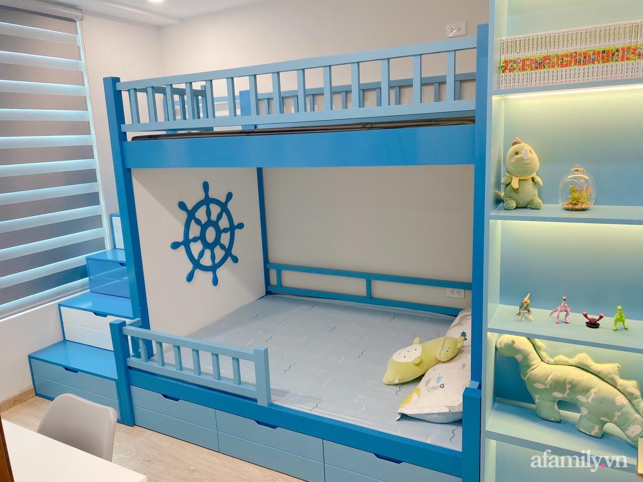 Căn hộ 92m² đong đầy hạnh phúc với nội thất đơn giản, hiện đại của vợ chồng trẻ Hà Nội - Ảnh 17.