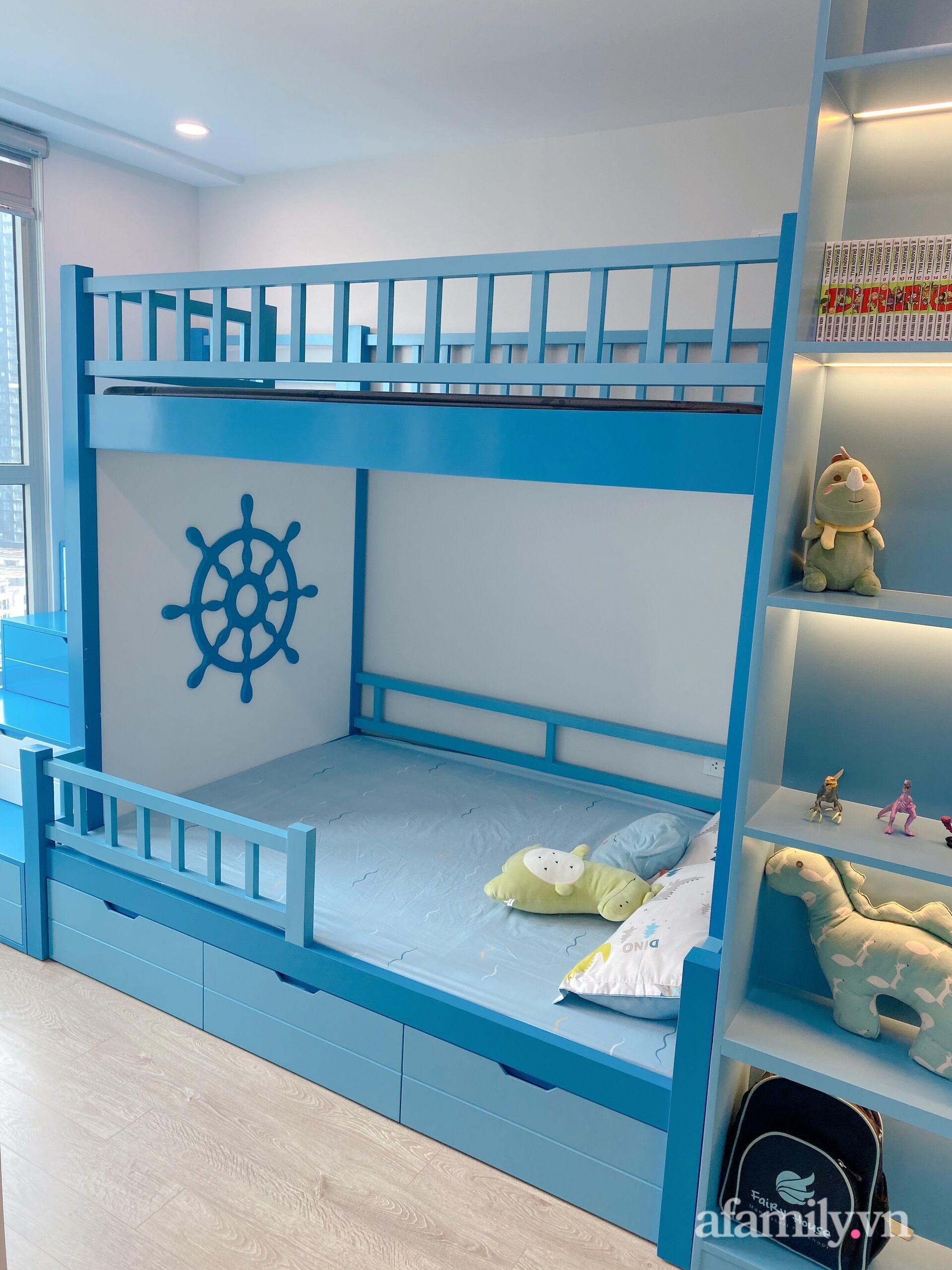 Căn hộ 92m² đong đầy hạnh phúc với nội thất đơn giản, hiện đại của vợ chồng trẻ Hà Nội - Ảnh 18.