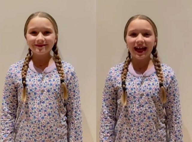 """Lâu lâu mới lộ diện, """"công chúa út"""" Harper nhà David Beckham gây bất ngờ với vẻ ngoài phổng phao dù mới gần 10 tuổi - Ảnh 2."""