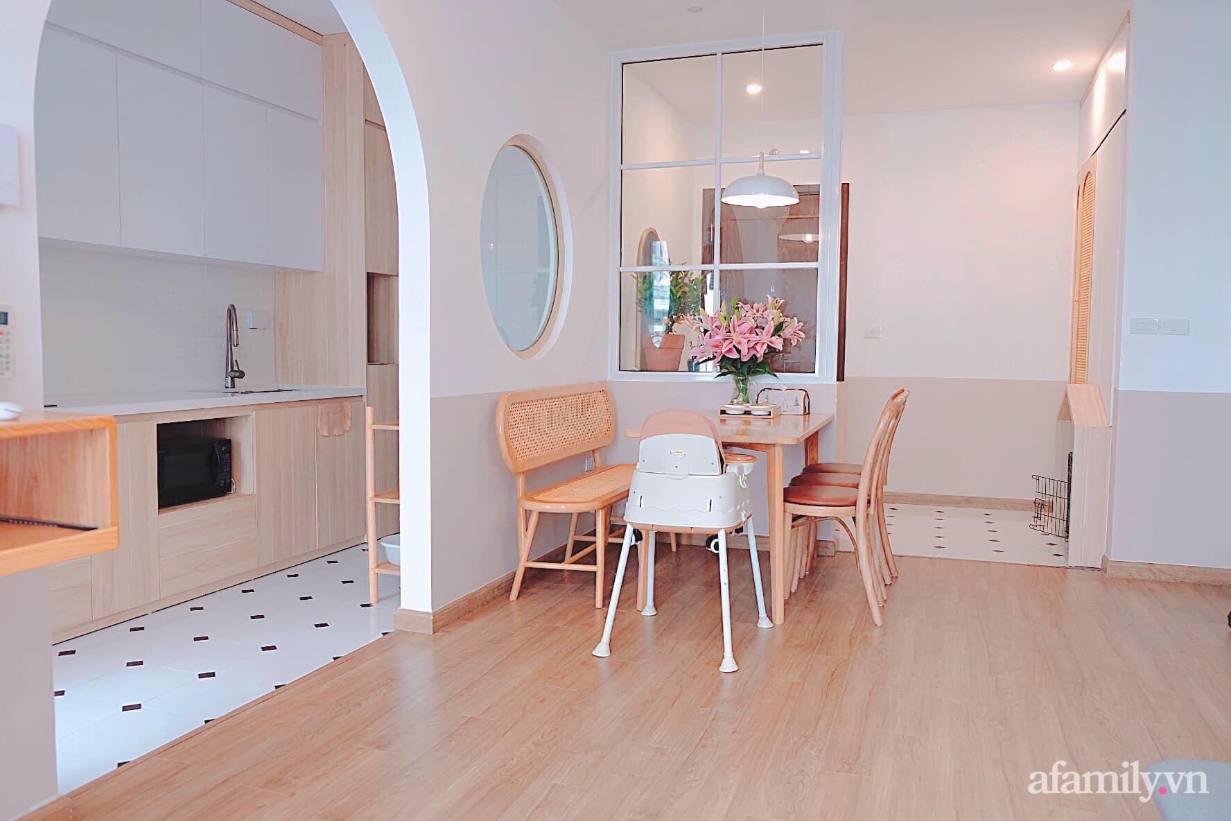 Căn hộ 78m² đẹp tinh tế và tiện dụng với phong cách tối giản của cặp vợ chồng trẻ ở Hà Nội - Ảnh 6.