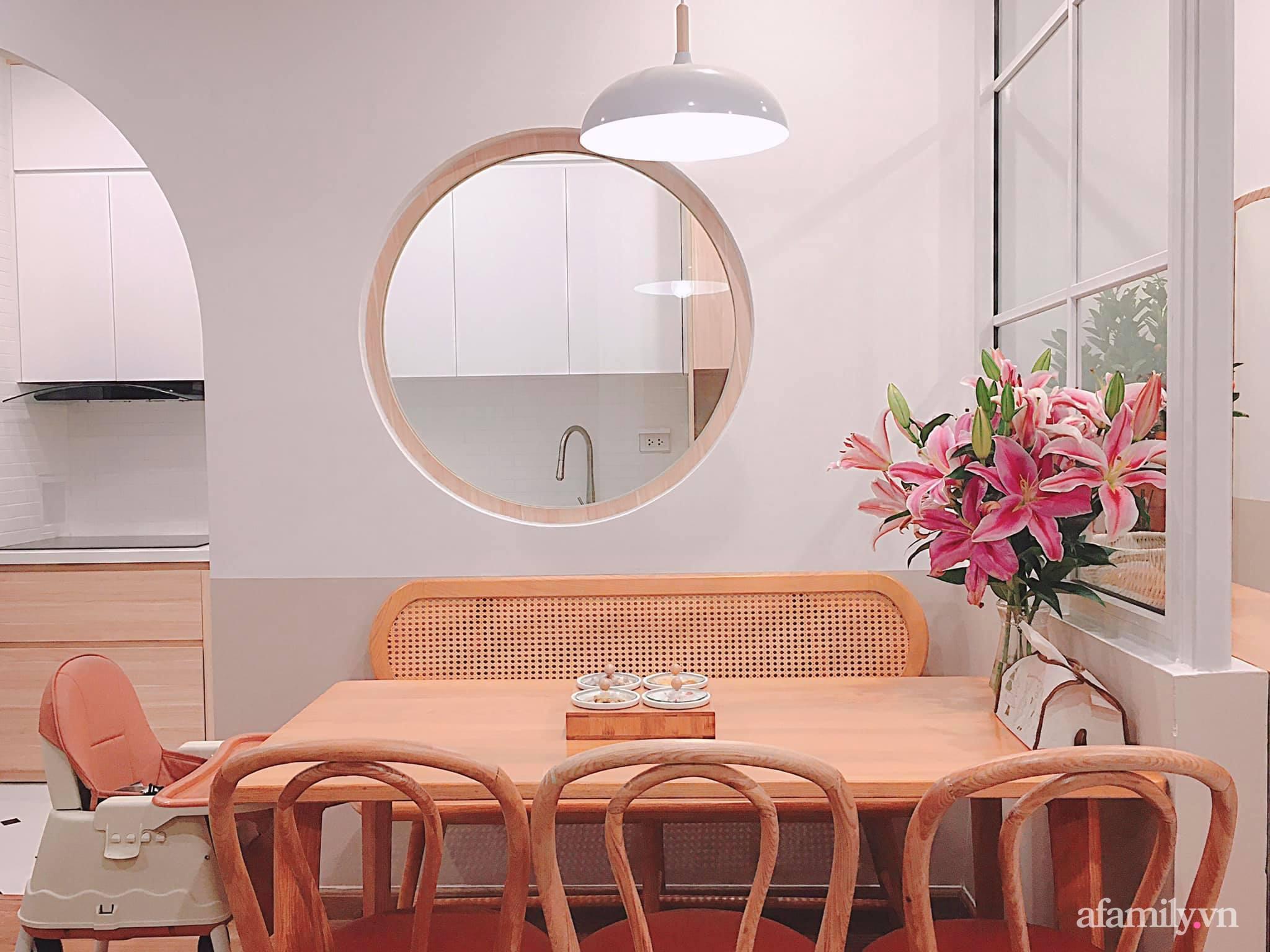 Căn hộ 78m² đẹp tinh tế và tiện dụng với phong cách tối giản của cặp vợ chồng trẻ ở Hà Nội - Ảnh 8.