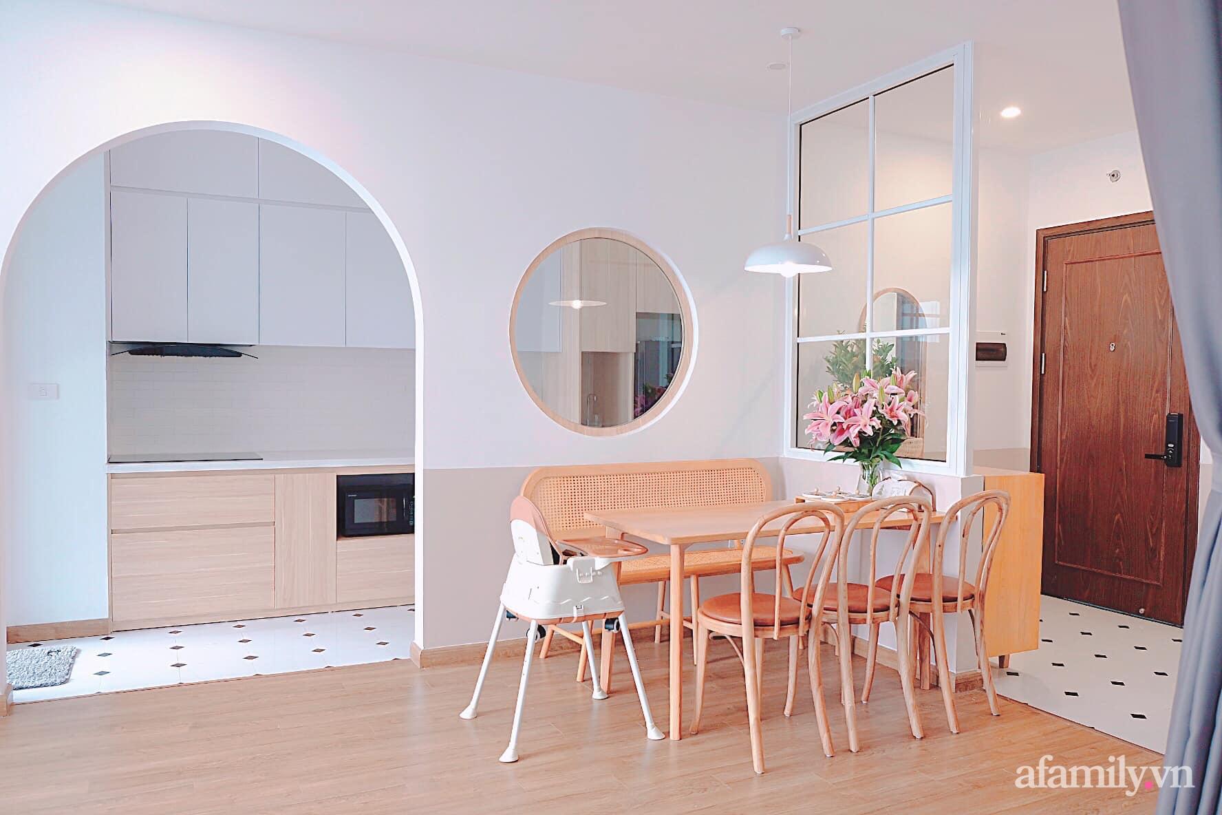 Căn hộ 78m² đẹp tinh tế và tiện dụng với phong cách tối giản của cặp vợ chồng trẻ ở Hà Nội - Ảnh 9.