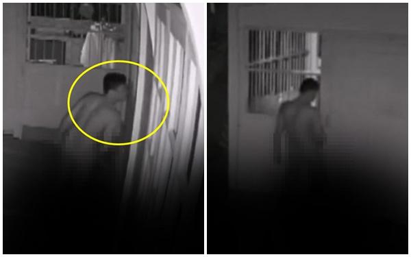 Nghe tiếng động lớn ngoài cửa, người mẹ 2 con kiểm tra camera thì phát hiện gã đàn ông đứng lột hết quần áo, hành động tiếp theo mới gây ám ảnh - Ảnh 1.