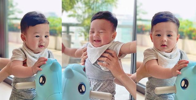 Chồng đại gia của Đặng Thu Thảo tiết lộ chân dung cậu con trai gần 1 tuổi - Ảnh 3.