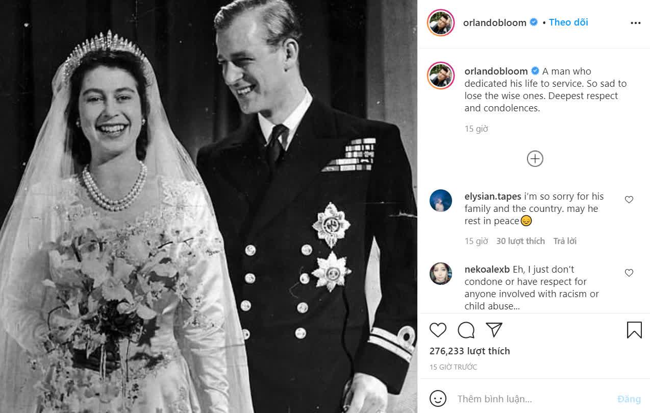 Dàn sao tưởng niệm sự ra đi của Hoàng thân Philip: Gia đình Beckham bị chỉ trích vì đăng ảnh cởi trần, 2 nam tài tử có hành động đặc biệt - Ảnh 9.