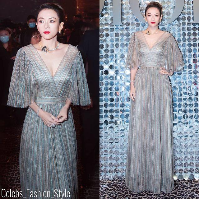 """Nàng """"Nguỵ Anh Lạc"""" lấn át cả Chương Tử Di hay """"con dâu sòng bài Macau"""" khi xuất hiện tại show Dior 2021 - Ảnh 4."""