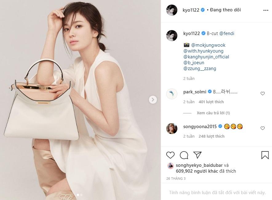"""Song Hye Kyo hay bị dân tình chê thiếu khí chất thời trang nhưng cô đã có cú """"bẻ lái"""" cực gắt khiến antifan câm nín - Ảnh 3."""