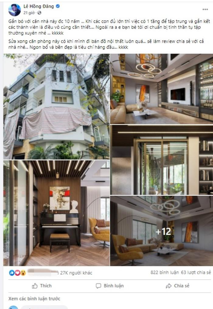 """Hồng Đăng (Hướng Dương Ngược Nắng) khoe nhà mới đẹp như phim Hàn, góc """"chill"""" ngay trong nhà xịn không kém homestay - Ảnh 2."""