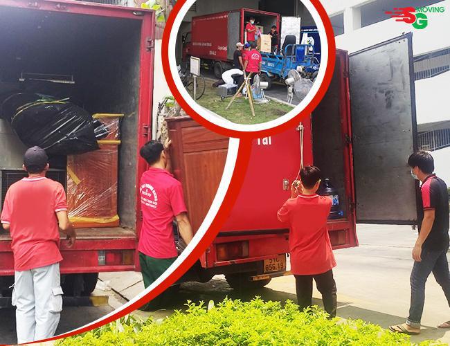 SG Moving - Dịch vụ chuyển nhà giá tốt, cam kết bồi thường 100% giá trị tài sản nếu mất hỏng - Ảnh 1.