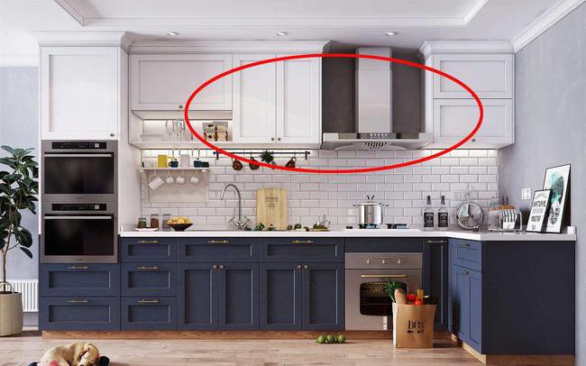 """Tủ bếp âm tường đã """"lỗi thời"""", đây là thiết kế vừa tinh tế, đẹp mắt lại vẫn rất hữu dụng để cất giữ đồ dùng"""