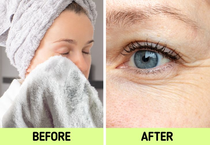 """Nếu biết lý do khiến làn da ngày càng nhăn nheo mụn nhọt, bạn sẽ """"cạch"""" đến già việc dùng khăn lau khô mặt - Ảnh 3."""
