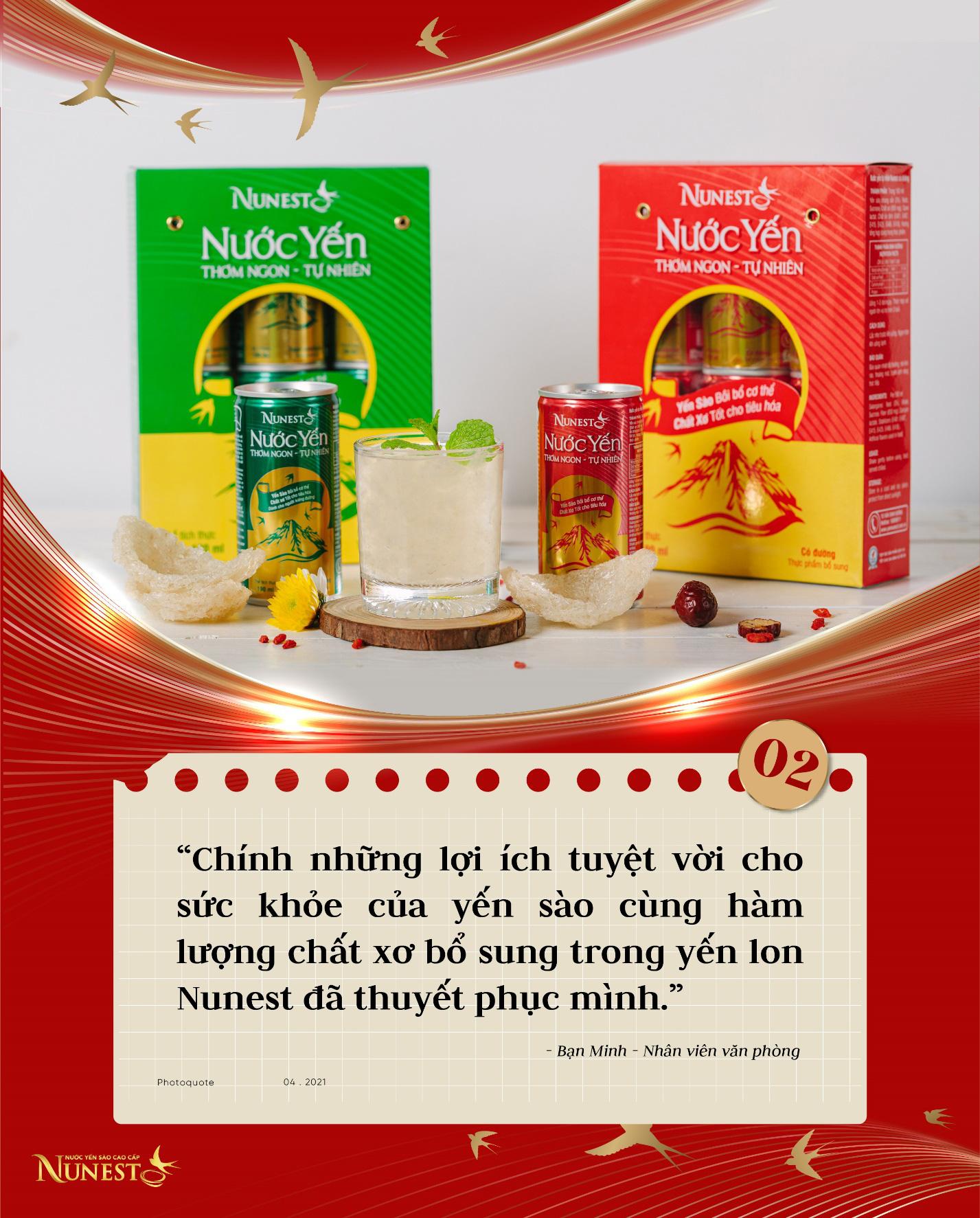 """Top 5 siêu phẩm """"đắt xắt ra miếng"""" trong Combo dinh dưỡng cho cả nhà của thương hiệu yến sào Nunest - Ảnh 2."""