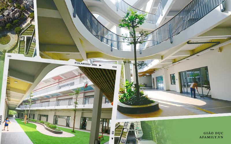 """Một trường học ở Hà Nội có lối kiến trúc vô cùng độc lạ, cứ đến mùa hè học trò lại """"trốn vào rừng"""" để vẽ vời, luyện nhạc kịch, làm phim"""