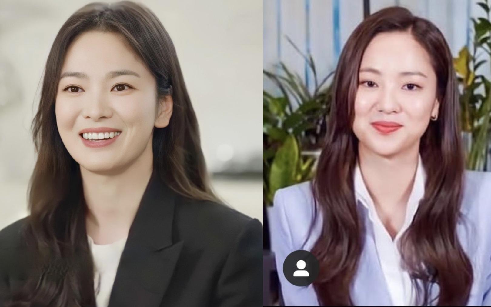 """Nhan sắc của Song Hye Kyo được so sánh giống với """"bạn gái"""" của Song Joong Ki: Như hai chị em sinh đôi?"""