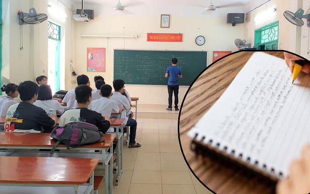 """Học sinh hí hửng khoe có cách chép bài mới, thầy giáo choáng váng đến nỗi phải thốt lên: """"Chưa bao giờ thấy trường hợp này"""""""
