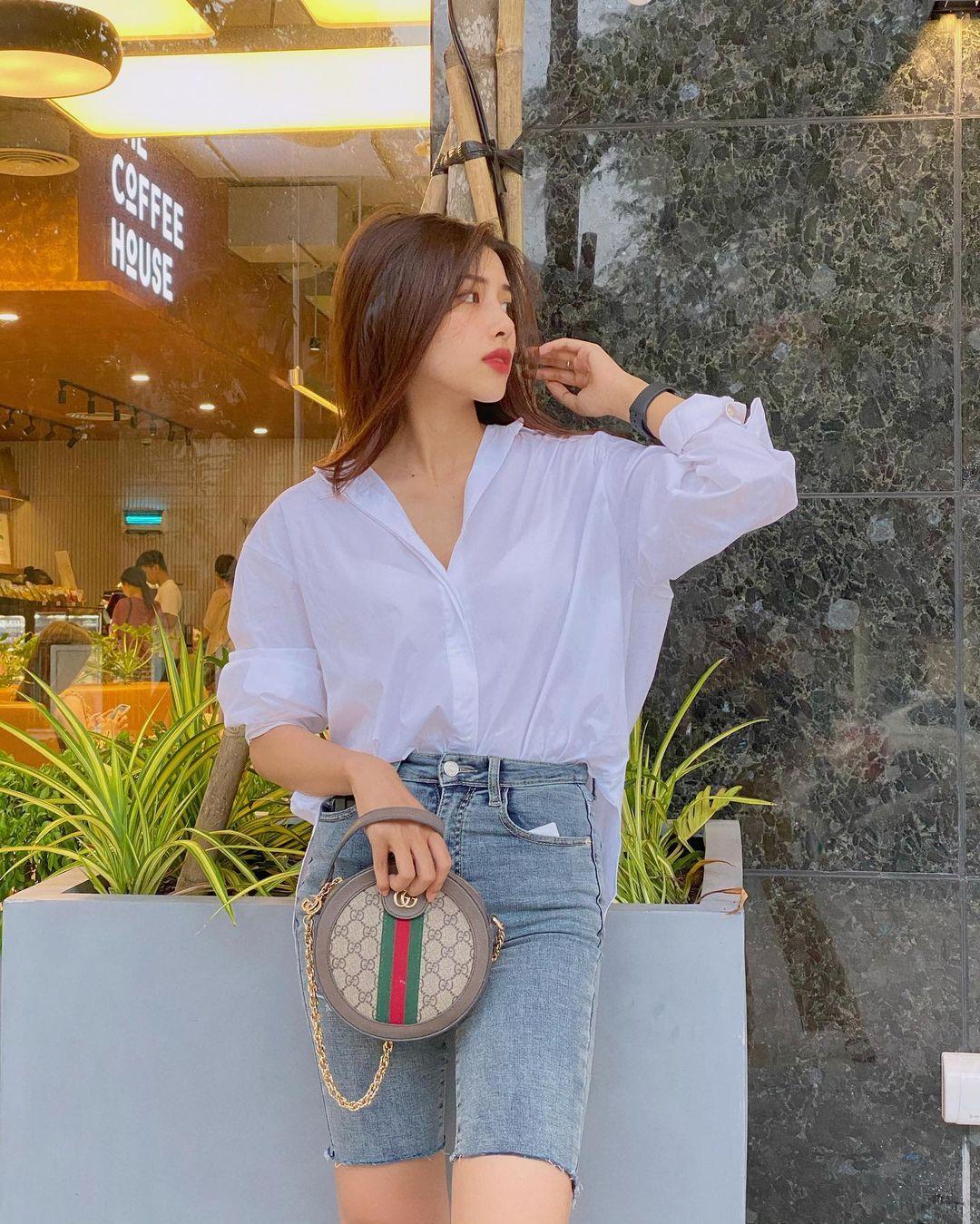 Lên cô dâu xinh đẹp xuất sắc, ngoài đời thường vợ của Phan Mạnh Quỳnh còn là quý cô hàng hiệu, mỗi ngày diện một chiếc túi xa xỉ đụng hàng cả dàn sao Vbiz - Ảnh 8.