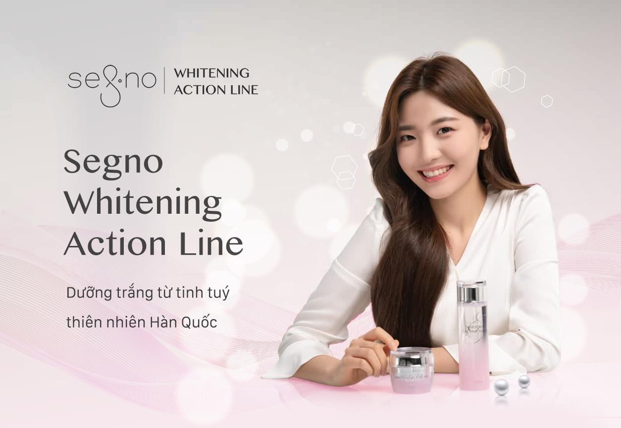 Segno Whitening Action Line - Dưỡng trắng lành tính từ tinh tuý thiên nhiên Hàn Quốc - Ảnh 1.