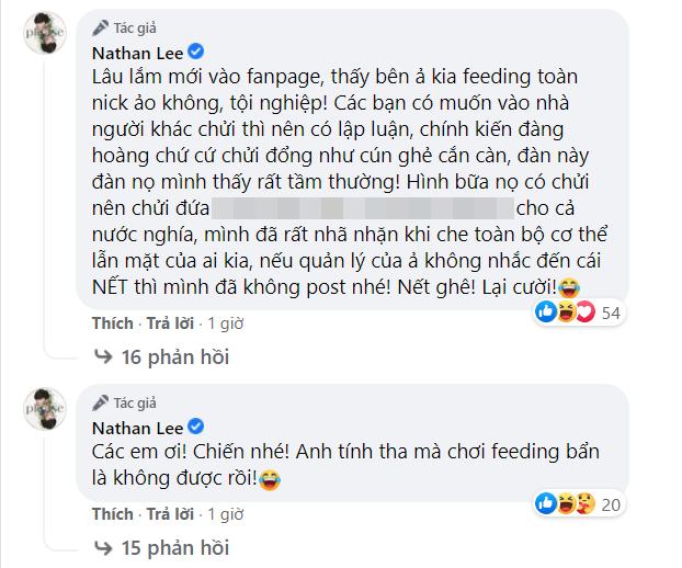 """Bị quản lý và fan Ngọc Trinh công kích, Nathan Lee tuyên bố: """"Anh tính tha mà chơi bẩn là không được rồi"""" - Ảnh 2."""