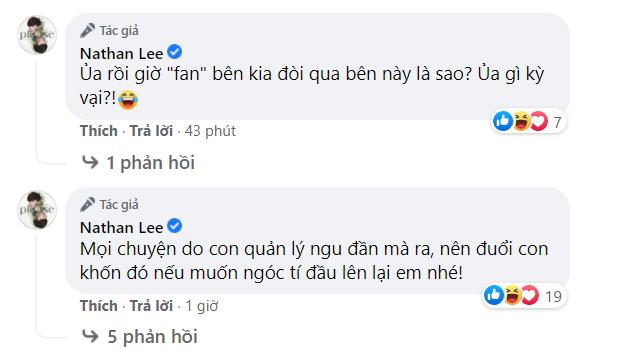 """Bị quản lý và fan Ngọc Trinh công kích, Nathan Lee tuyên bố: """"Anh tính tha mà chơi bẩn là không được rồi"""" - Ảnh 3."""