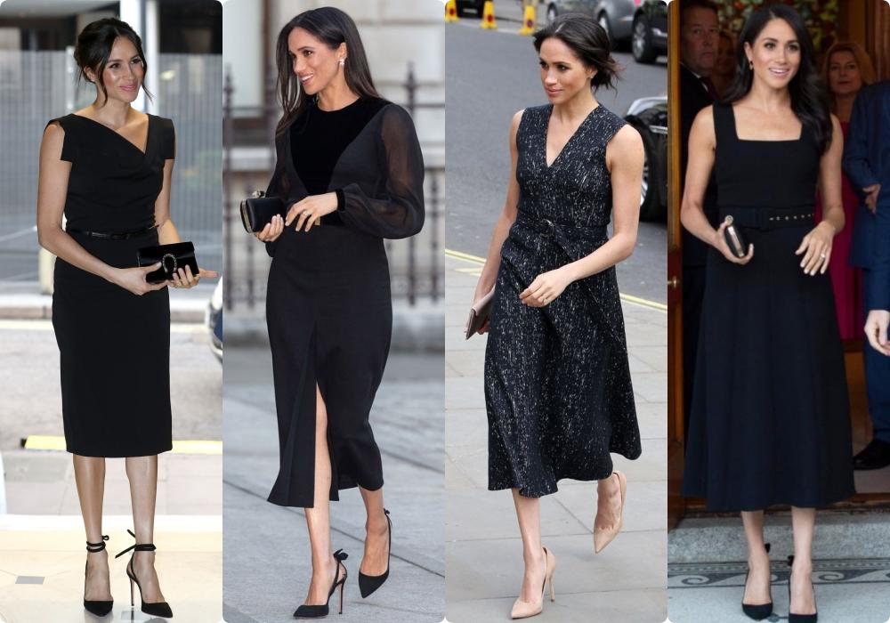 12 bộ đầm đen gây bão Hoàng gia Anh: Ngoài những sự kiện quan trọng thì hai cô con dâu thua hết mẹ chồng ở khoản sexy o ép vòng 1 - Ảnh 17.