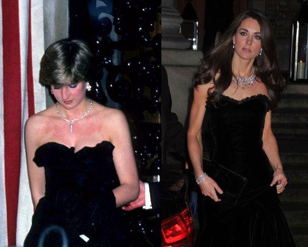 12 bộ đầm đen gây bão Hoàng gia Anh: Ngoài những sự kiện quan trọng thì hai cô con dâu thua hết mẹ chồng ở khoản sexy o ép vòng 1 - Ảnh 8.
