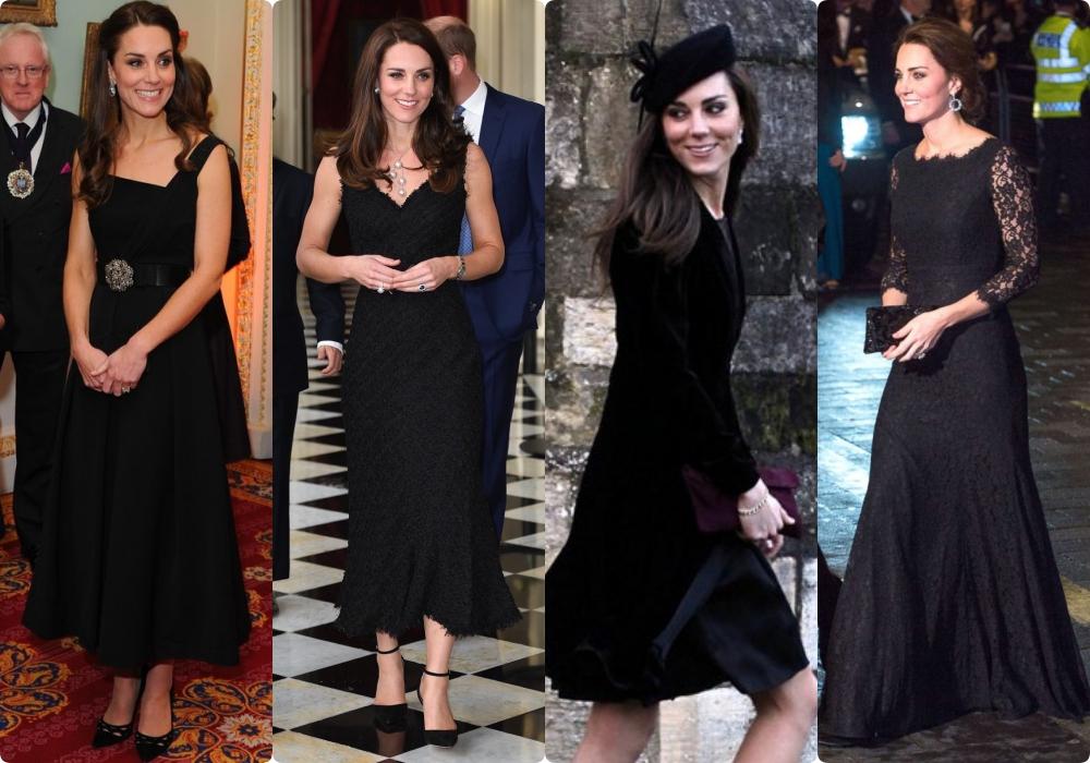 12 bộ đầm đen gây bão Hoàng gia Anh: Ngoài những sự kiện quan trọng thì hai cô con dâu thua hết mẹ chồng ở khoản sexy o ép vòng 1 - Ảnh 10.