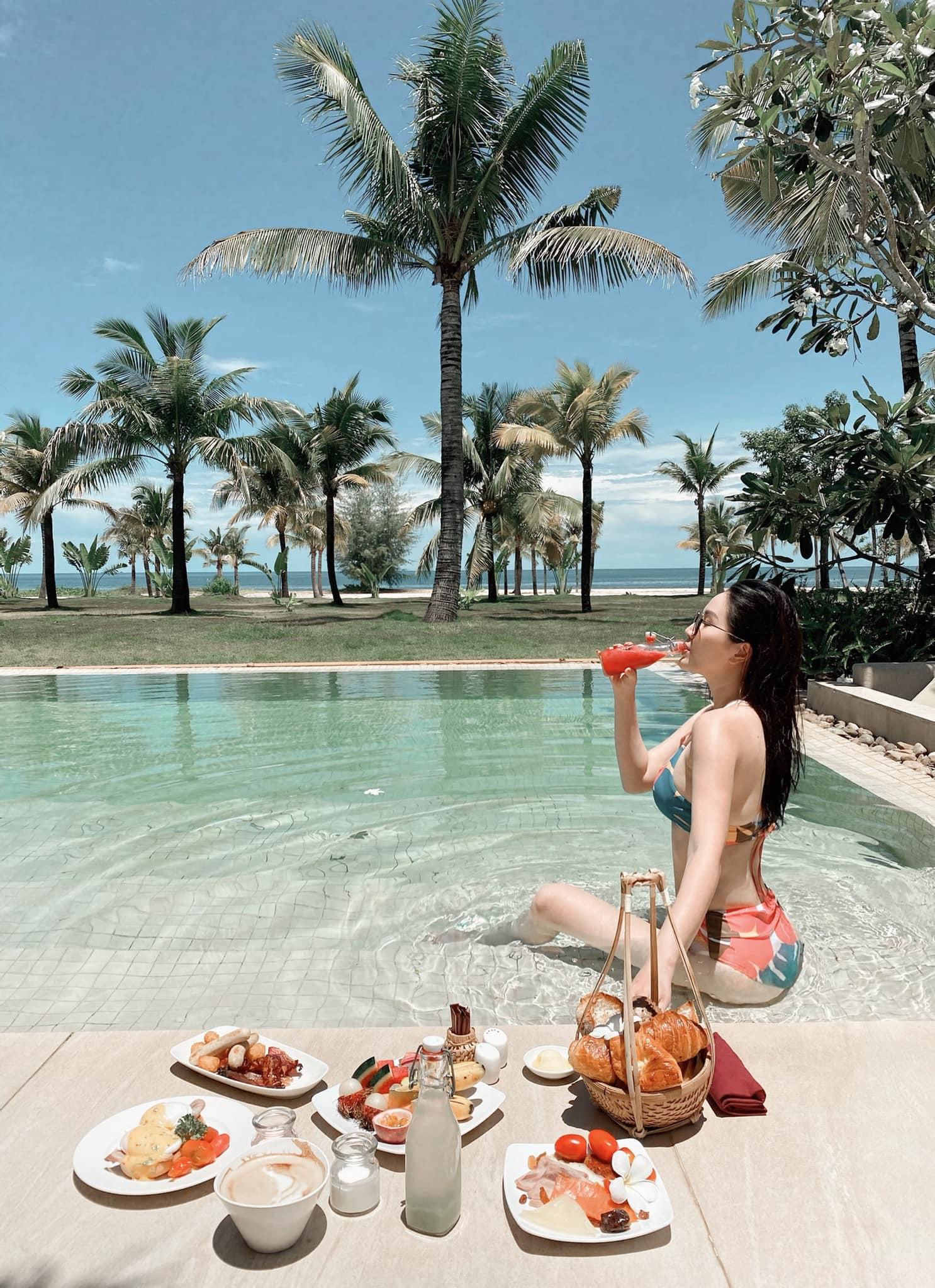 Nhìn những chuyến du lịch siêu sang chảnh của Bảo Thy mà ngưỡng mộ: Toàn check-in resort cao cấp nhất, không bận tâm chi phí - Ảnh 5.