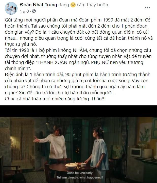"""Đạo diễn Nhất Trung bất ngờ đăng đoạn phim 1990 đề cập thẳng đến Nhã Phương sau khi tố một diễn viên """"mắc bệnh ngôi sao"""" - Ảnh 6."""