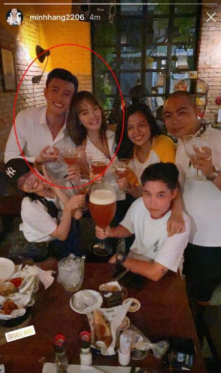 """Trước khi chính thức bị chụp ảnh ôm hôn, Quốc Trường và Minh Hằng đã có cả loạt """"thính"""" trên trang cá nhân thế này - Ảnh 4."""