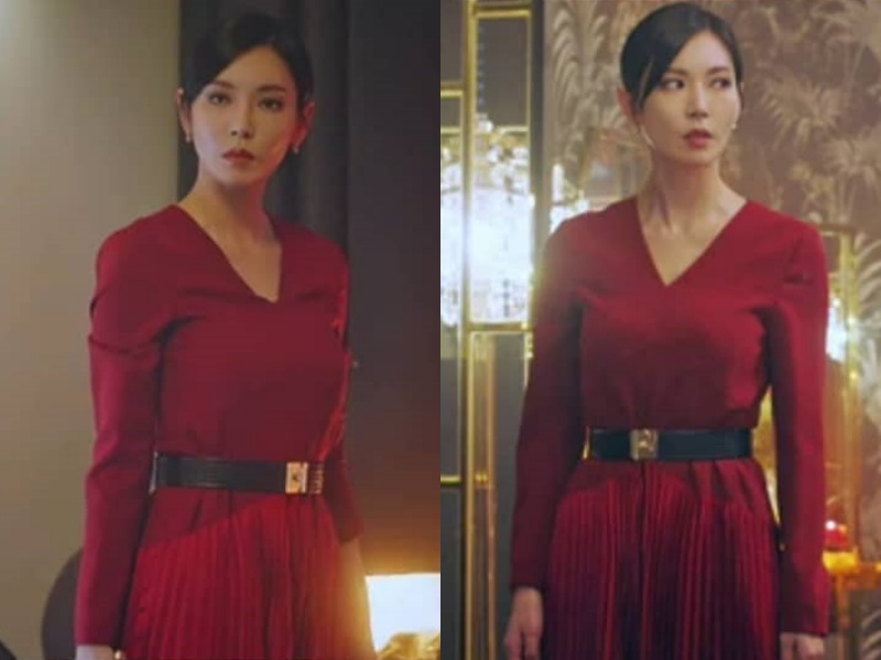 Xem Penthouse mà phục lăn tài sửa váy của ác nữ Kim So Yeon: Sửa như không sửa, thị lực 10/10 cũng khó phát hiện ra - Ảnh 4.