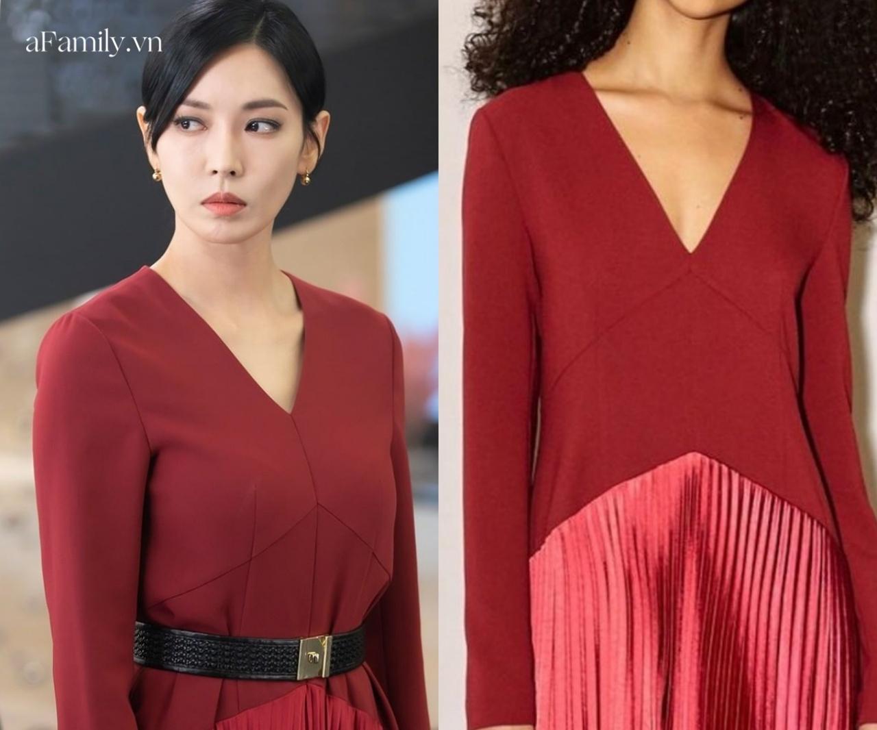 Xem Penthouse mà phục lăn tài sửa váy của ác nữ Kim So Yeon: Sửa như không sửa, thị lực 10/10 cũng khó phát hiện ra - Ảnh 3.