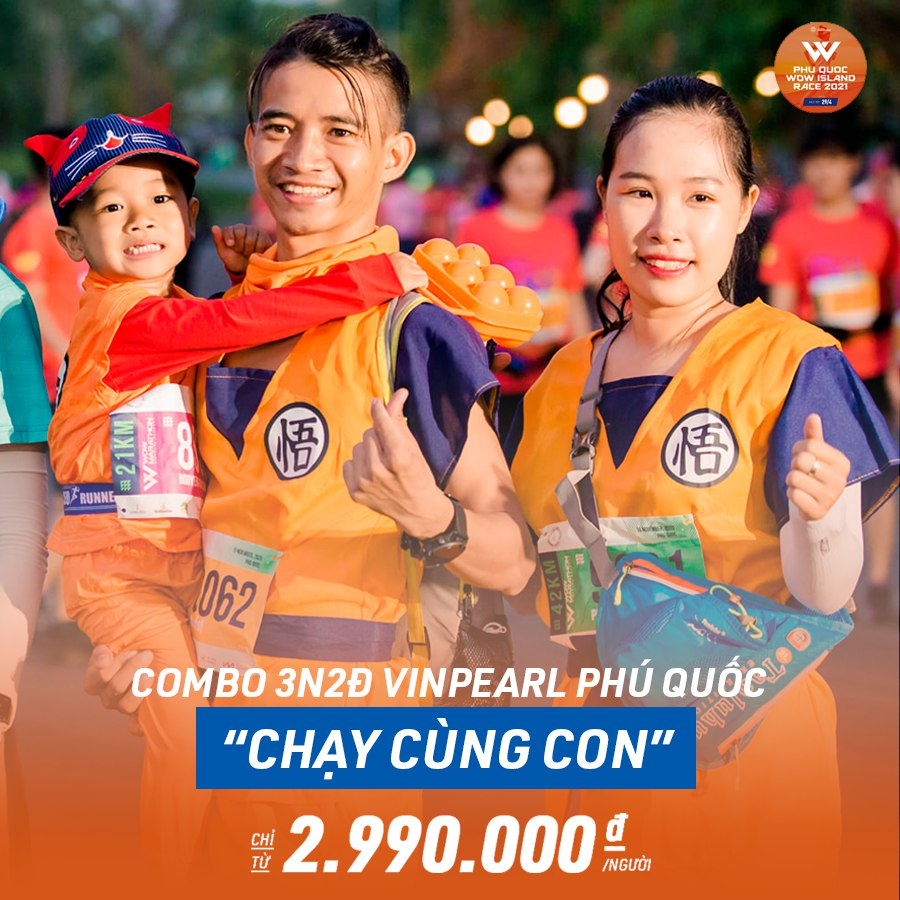 Phu Quoc WOW Island Race 2021 – Đường chạy có 1 – 0 – 2 tại Phú Quốc & chuyến nghỉ dưỡng thiên đường cho gia đình cùng chiến hữu - Ảnh 7.